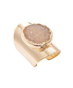 Alanna Bess Jewelry   Round Druzy Shield Trend Ring