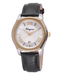 Salvatore Ferragamo | Lungarno Leather Strap Watch 40mm
