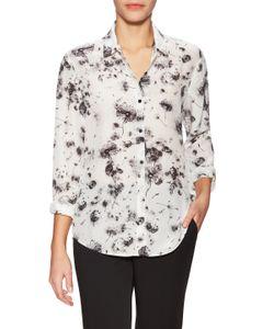 The Kooples | Silk Dandelion Printed Shirt