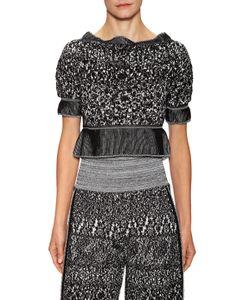 Vivienne Westwood | Knit Scallop Neck Cotton Top