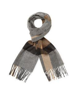 Saks | Bold Herringbone Plaid Stripe Scarf