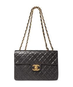 Chanel | Vintage Quilted Lambskin Classic Flap Maxi