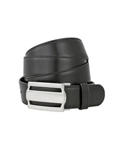 Montblanc   3-Ring Cut-Out Calf Reversible Belt