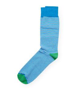 Brooks Brothers | Cotton Crew Colorblock Stripe Socks