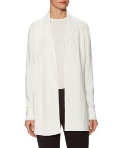 Jason Wu | Crepe Long Sleeve Tunic Blouse