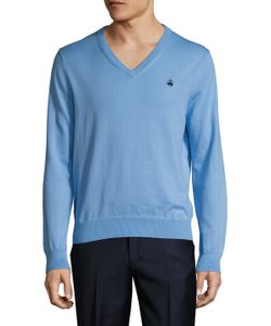 Brooks Brothers | Supima Solid V-Neck Sweater