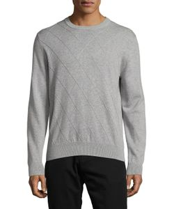 Brooks Brothers | Cotton Harlequin Crewneck Sweater