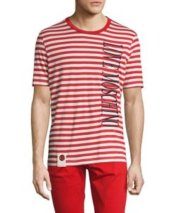 Love Moschino | Cotton Striped Tee