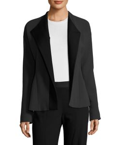 Narciso Rodriguez | Crepe Shawl Collar Wrapped Jacket