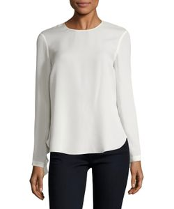 A.L.C. | Sally Gathered Trim Blouse