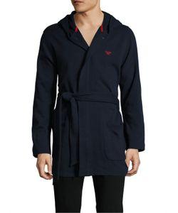Emporio Armani | French Terry Athletics Robe
