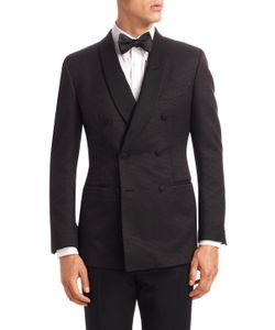 Tom Ford | Shawl Lapel Formal Jacket With Buttonhole