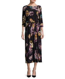 Max Mara | Agitare Printed Midi Dress
