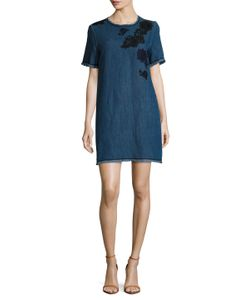 Max Mara | Albino Denim Shift Dress