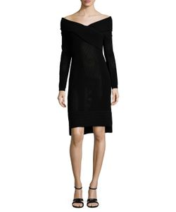 Prabal Gurung | Off Shoulder Tunic Dress