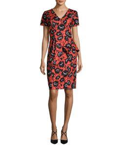 Carolina Herrera | Cotton Printed Sheath Dress