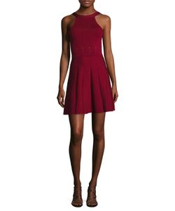 Cushnie Et Ochs | Solid Fit And Flare Dress