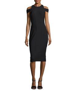 Misha Collection | Klareesa Seamed Sheath Dress