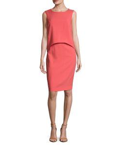 Carolina Herrera | Overlay Top Sheath Dress