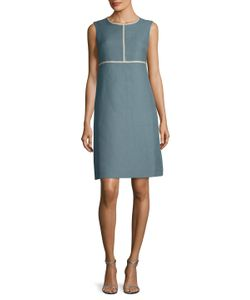 Max Mara | Marche Linen Flared Dress