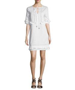 Prabal Gurung | Cotton Inset Tunic Dress