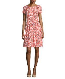 Oscar de la Renta | Printed Two Pocket Dress