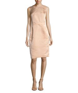 Narciso Rodriguez | Satin Belted Sheath Dress