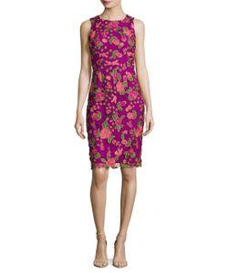 Badgley Mischka | Lace Sheath Dress
