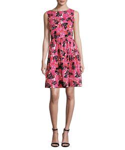 Oscar de la Renta | Printed Flared Dress