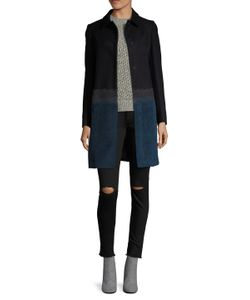 Piazza Sempione | Wool Snap Button Coat