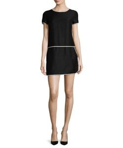 Max Mara | Albero Colorblocked Trim Mini Dress