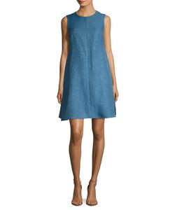 Max Mara | Brama Cotton Striped A Line Dress