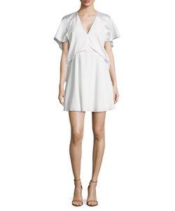 Balenciaga | Gathe Cuff A Line Dress