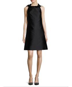 Lanvin | Pleated Halter Neck A Line Dress
