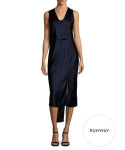 Narciso Rodriguez | Silk Placket Midi Dress