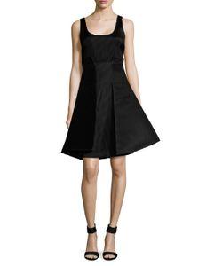 Badgley Mischka | Scoopneck A-Line Dress