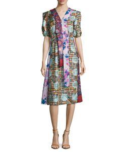 Marc Jacobs | Silk Patchwork A Line Dress