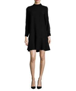 Timo Weiland | Gina Mock Neck A Line Dress