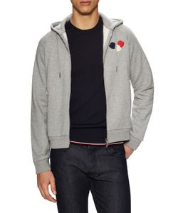 Moncler | Cotton Logo Patch Hoodie