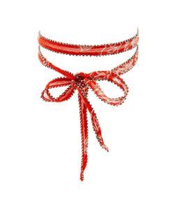 Chanluu | Chiffon Glass Choker Necklace