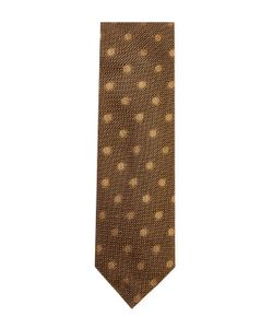 Tom Ford | Embroidered Dots Silk Tie