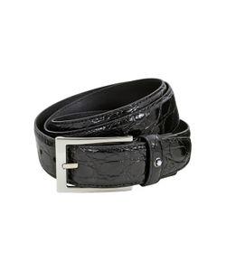 Montblanc   Classic Textured Rectangular Belt