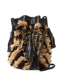 Antik Batik | Arteos Cotton Fringe Bucket Bag