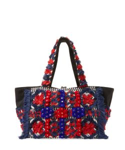 Antik Batik | Sunny Large Embroidered Cotton Tote