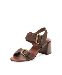 See by Chloé | Double Buckle Leather Sandal