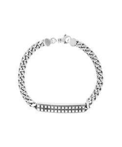 King Baby | Pyramids Curb Link Id Bracelet