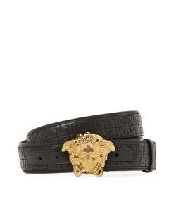 Versace | Palazzo Medusa Leather Belt