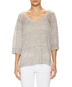 Zadig & Voltaire | Lor Linen V-Neck Sweater