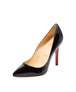 CHRISTIAN LOUBOUTIN | Pigalle 100 Patent Leather Pump