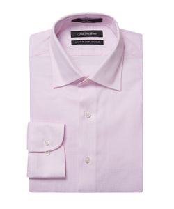 Saks Fifth Avenue | Embroidered Classic Fit Dress Shirt